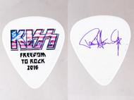 KISS Guitar Pick - Freedom to Rock Flag, Paul