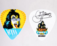 KISS Guitar Pick - KISS Kruise VIII Sailaway, Gene