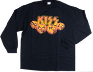 KISS T-Shirt - Halloween, Long-sleeve, (size XL)