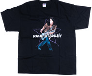 Paul Stanley T-Shirt - Live to Win, (size XL)