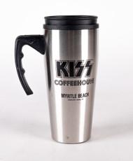 KISS Travel Mug - KISS Coffeehouse w/handle