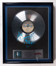 KISS Record Award - Platinum Ace Frehley Solo Album, signed