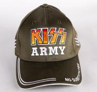 KISS Cap - KISS Army, No Substitutes