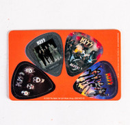 KISS Guitar Pick - KISS Guitar Pick Credit Card, set of 4