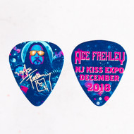 KISS Guitar Pick - Ace Frehley NJ KISS Expo 2018, VIP pink
