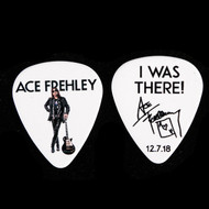 KISS Guitar Pick - Ace Frehley NJ KISS Expo 2018, black on white