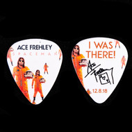 KISS Guitar Pick - Ace Frehley NJ KISS Expo 2018, orange