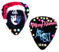 KISS Guitar Pick - Ace Frehley NJ KISS Expo 2018, Santa Hat