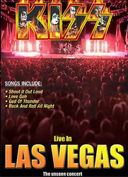 KISS DVD - Live in Las Vegas, (open)