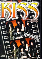 KISS DVD - Unauthorized, Alternate Cover, (open)