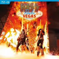 KISS Blu Ray - KISS Rocks Vegas Blu Ray + CD, (sealed)