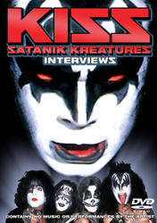 KISS DVD - Satanik Kreatures, (Gene cover)