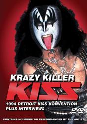 KISS DVD - Krazy Killer, (sealed)