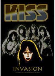 KISS DVD - Invasion, (sealed)