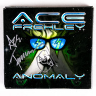 KISS Autograph - Ace Frehley Anomaly CD, (silver pen)