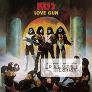 KISS Audio CD - Love Gun The DELUXE Gatefold, 2014 edition, (2 disc, open)