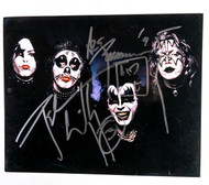 KISS Autograph - Ace Frehley and Peter Criss, 1st album photo