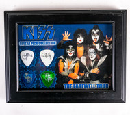 KISS Guitar Picks - Framed Farewell, set of 4, (B)