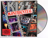 KISS Laserdisc Video NTSC - KISS Konfidential, (sealed)