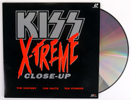 KISS Laserdisc Video NTSC - KISS X-Treme Close-Up, (sealed)