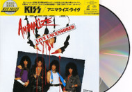 KISS Laserdisc Video NTSC - Animalize Live, Uncensored, (Japan, sealed)