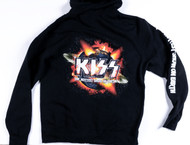 KISS Sweat Shirt Hoodie - Hottest Show on Earth, (size XL)