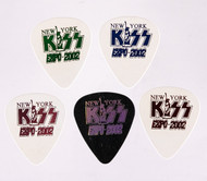 KISS Guitar Pick - KISS Expo 2002, set of 5