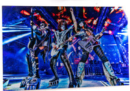 "KISS Photo - Metal Print, Group live, (17"" x 11"")"