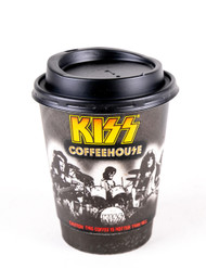 KISS Cup - KISS Coffeehouse w/lid, (short)