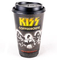 KISS Cup - KISS Coffeehouse w/lid, (tall)