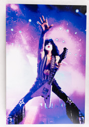 "KISS Photo - Metal Print, Paul Reaching Out, (8"" x 12"")"