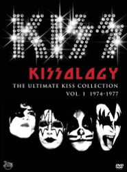 KISS DVD - KISSology, volume 1, DETROIT COBO HALL 1976 BONUS DISC, (open)