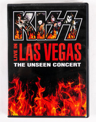 KISS DVD - KISS Live in Las Vegas, the Unseen Concert, (sealed)