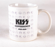 KISS Mug - KISS Coffeehouse Ceramic Mug, Icons