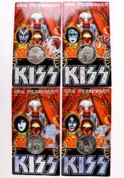 KISS Coins - Psycho Circus, set of 4