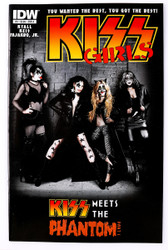 KISS Comic - KISS Girls, Part 1, (photo cover)