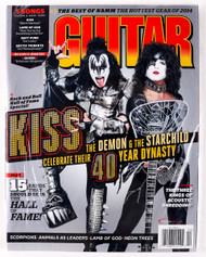 KISS Magazine - Guitar World, April 2014, Paul and Gene