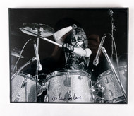 KISS Photo - Peter Criss, by Len Delesio, signed by the photographer