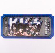 KISS Ticket - 3D Lenticular, The Tour