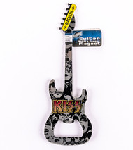 KISS Bottle Opener - Magnetic Guitar