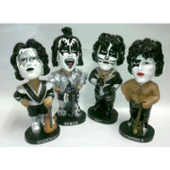 KISS Bobble Dobbles - set of 4 ANIMATION IN MOTION, (no boxes)