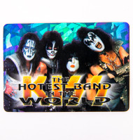KISS Sticker - Prism, Hottest Band in the World