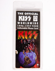 KISS Phone Card - KISS Worldwide Tour