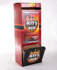 KISS Trading Cards - KISS 360 Store Display Dispenser, (empty)