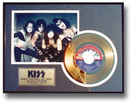 KISS Gold Record - Rock and Roll all Nite 45
