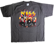 KISS T-Shirt - KISS 2000, dark grey, (size XL)