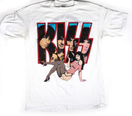 KISS T-Shirt - KISS Girl 1988, (size XL)