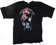 KISS T-Shirt - Psycho Circus Red Icons, (size XL)
