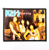 KISS Patch - Lick it Up video, photo patch