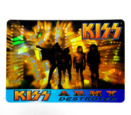 KISS Sticker - Prism, Intrepid Press Conference